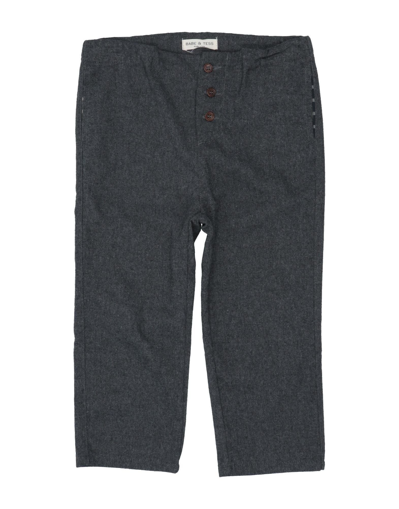 Babe And Tess Kids' Casual Pants In Gray