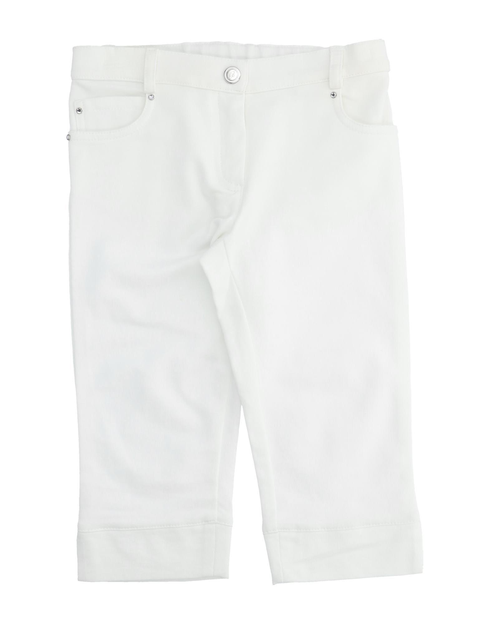 Miss Blumarine Kids' Casual Pants In White