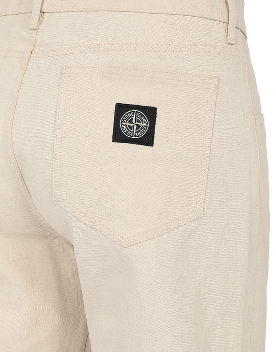13463735as - PANTS - 5 POCKETS STONE ISLAND