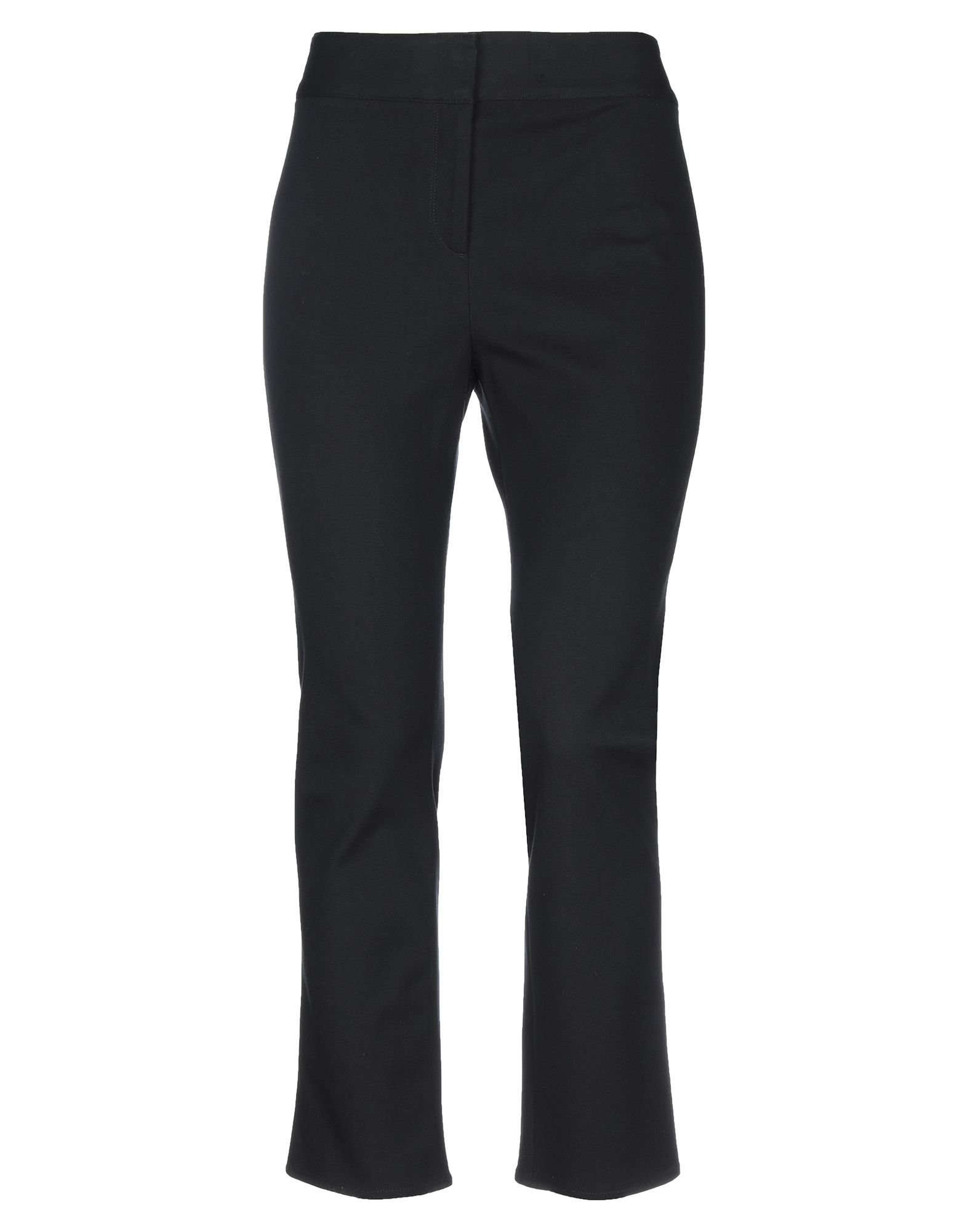 VERONICA BEARD Casual pants. plain weave, no appliqués, solid color, high waisted, regular fit, straight leg, hook-and-bar, zip, multipockets, stretch. 96% Cotton, 4% Elastane