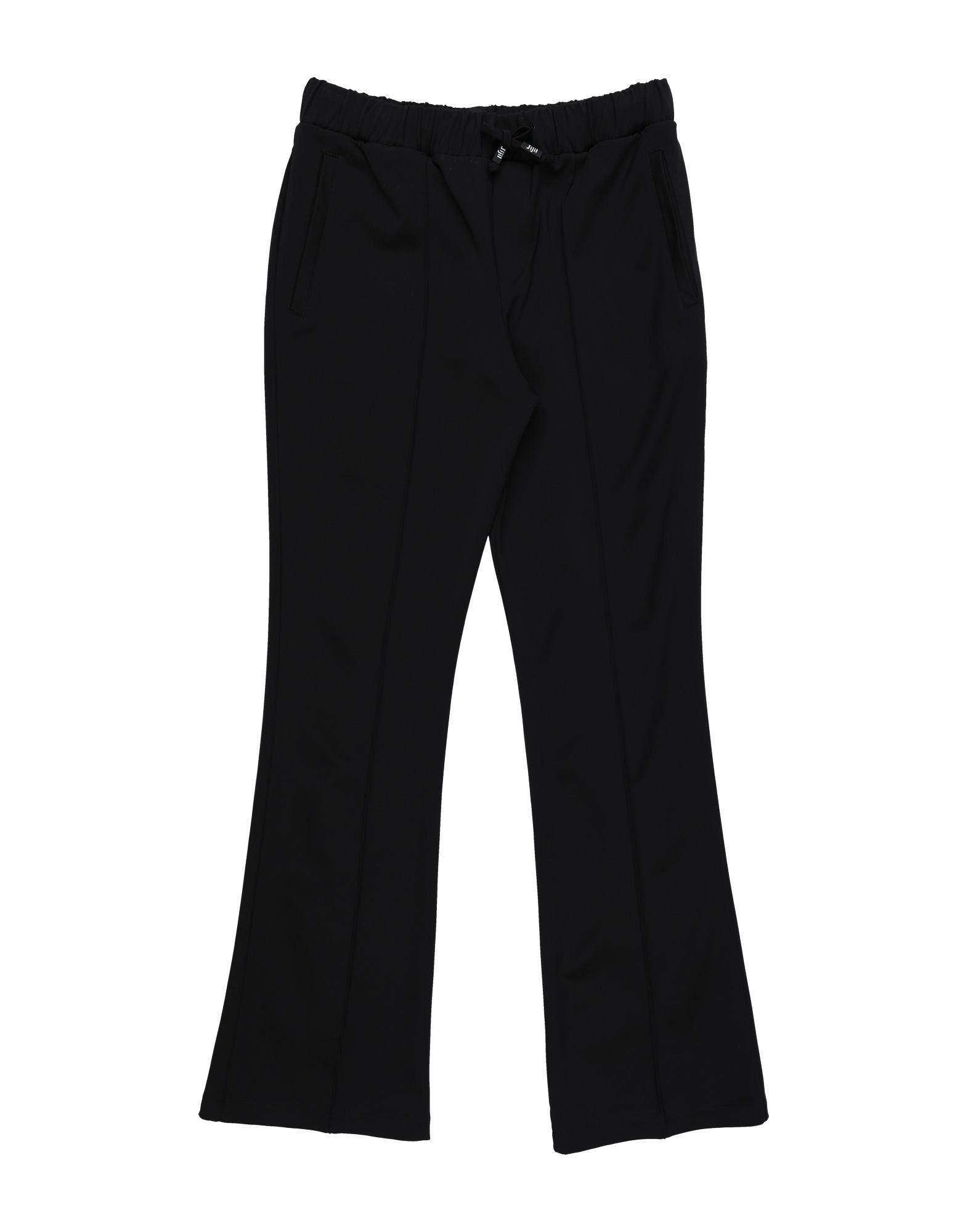 Jijil Jolie Kids' Casual Pants In Black