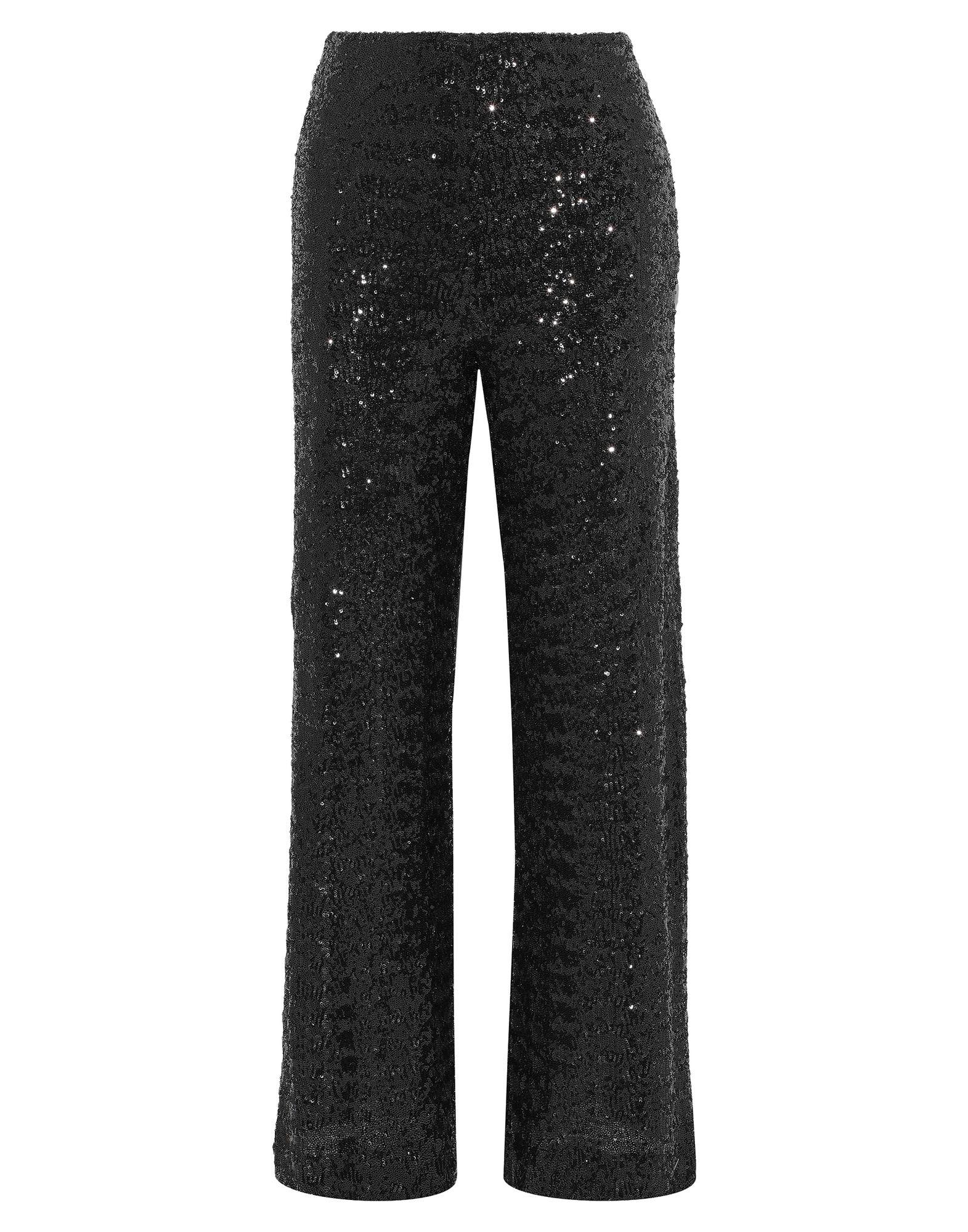 《セール開催中》ROLAND MOURET レディース パンツ ブラック 8 ポリエステル 100% / アセテート / レーヨン / ポリウレタン