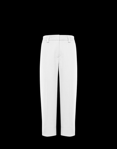 FORMAL TROUSERS White Skirts and Trousers Woman