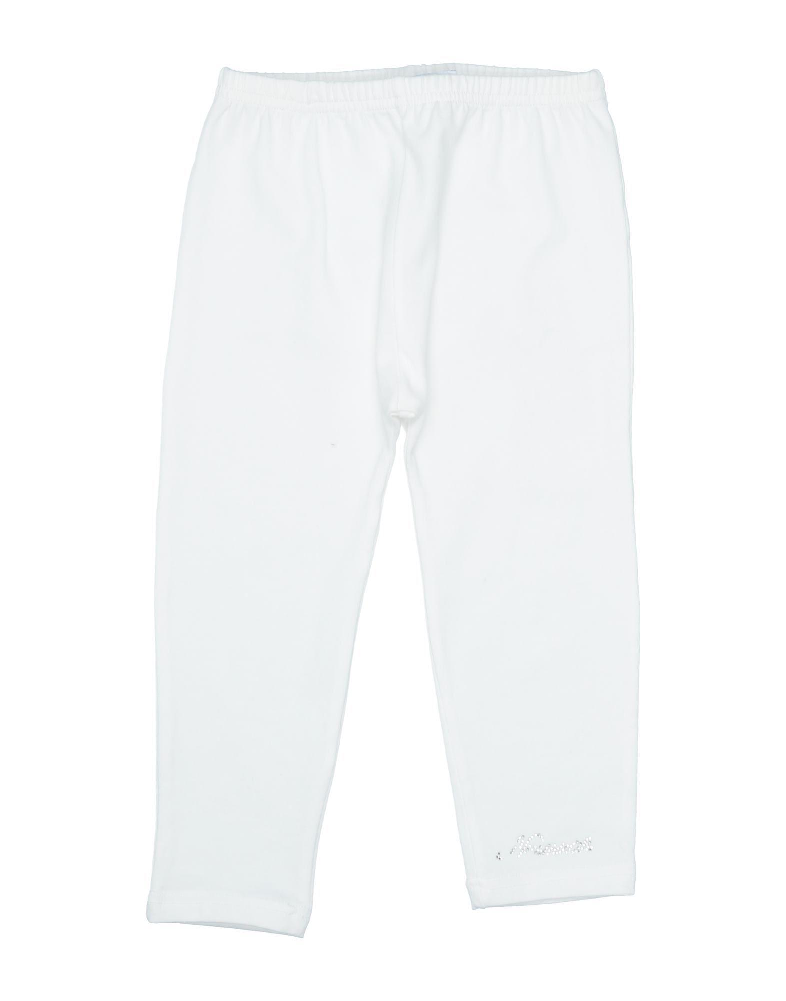 Ninnaoh Kids' Leggings In White