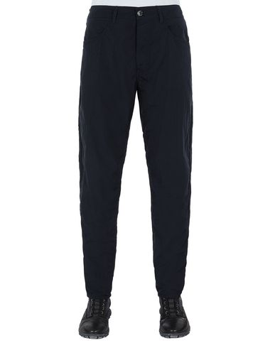 STONE ISLAND J02J2 NYLON TELA-TC TROUSERS - 5 POCKETS Man Blue EUR 205
