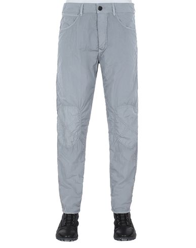 STONE ISLAND J03J2 PANTS - 5 POCKETS Man Dust Gray EUR 189