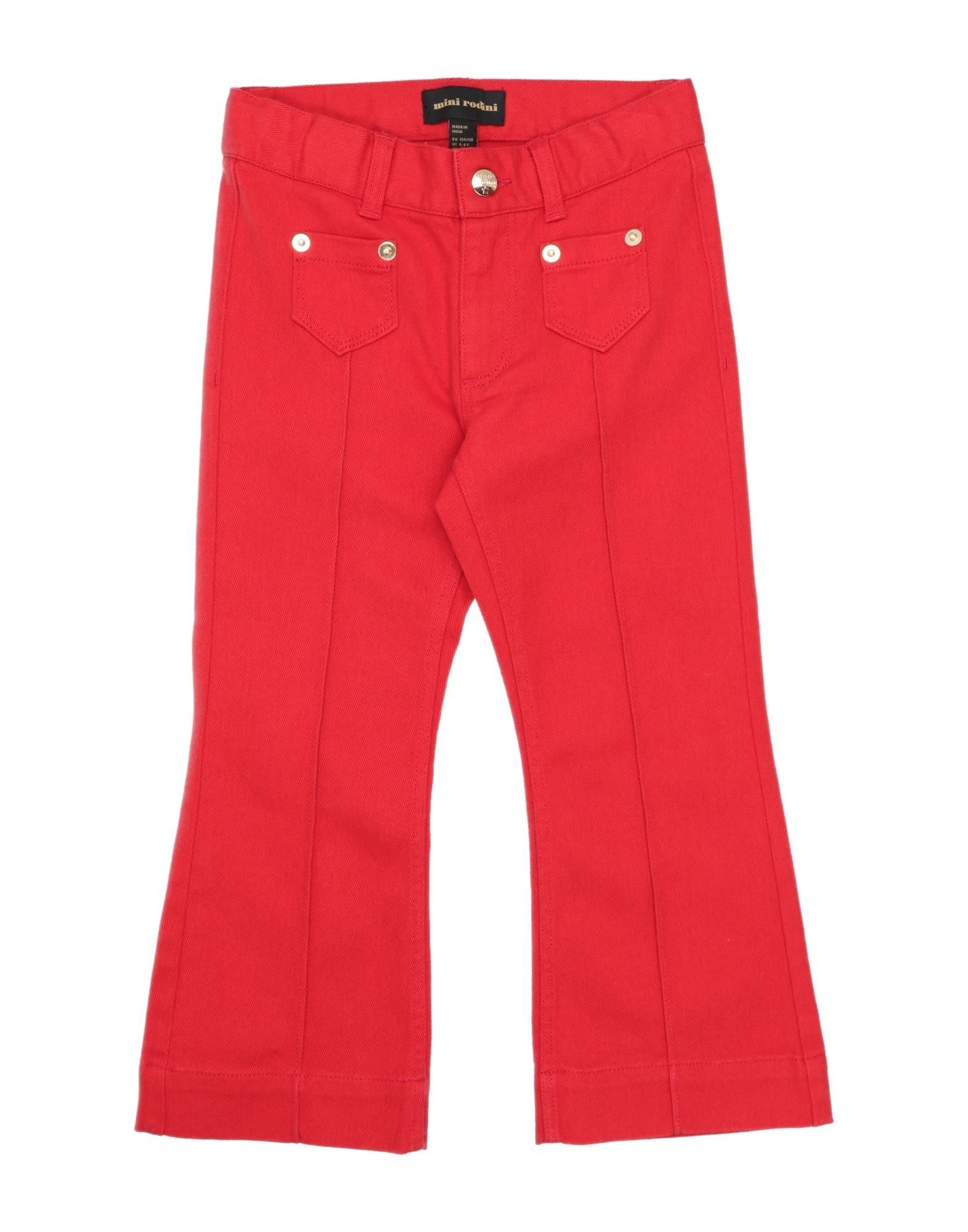MINI RODINI Джинсовые брюки