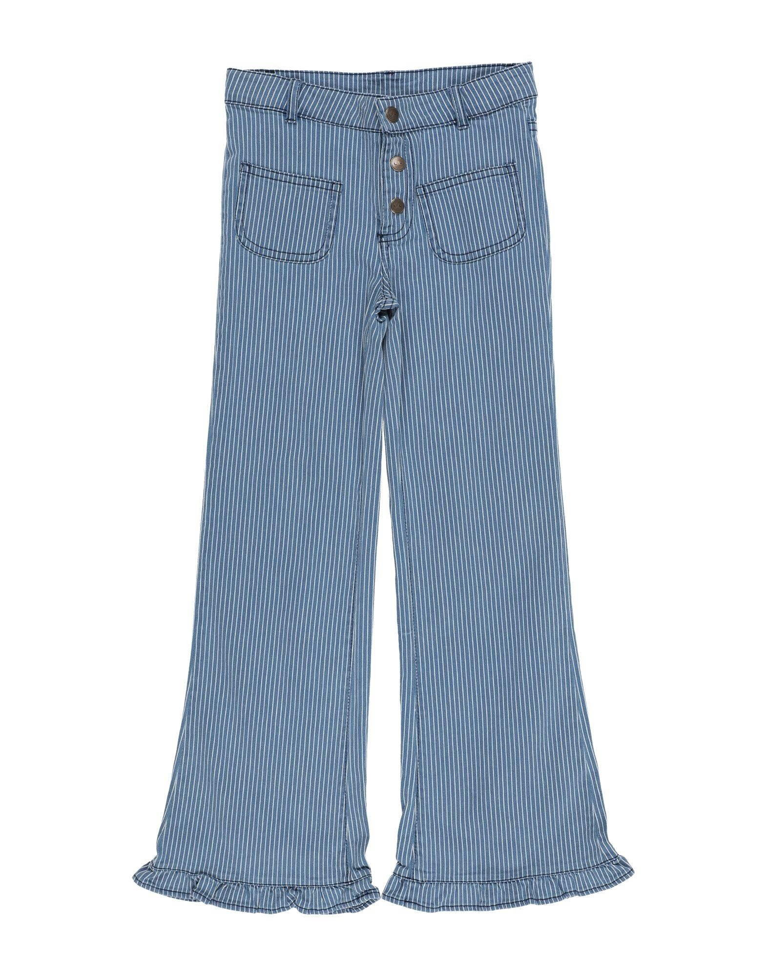 Louis Louise Kids' Casual Pants In Blue
