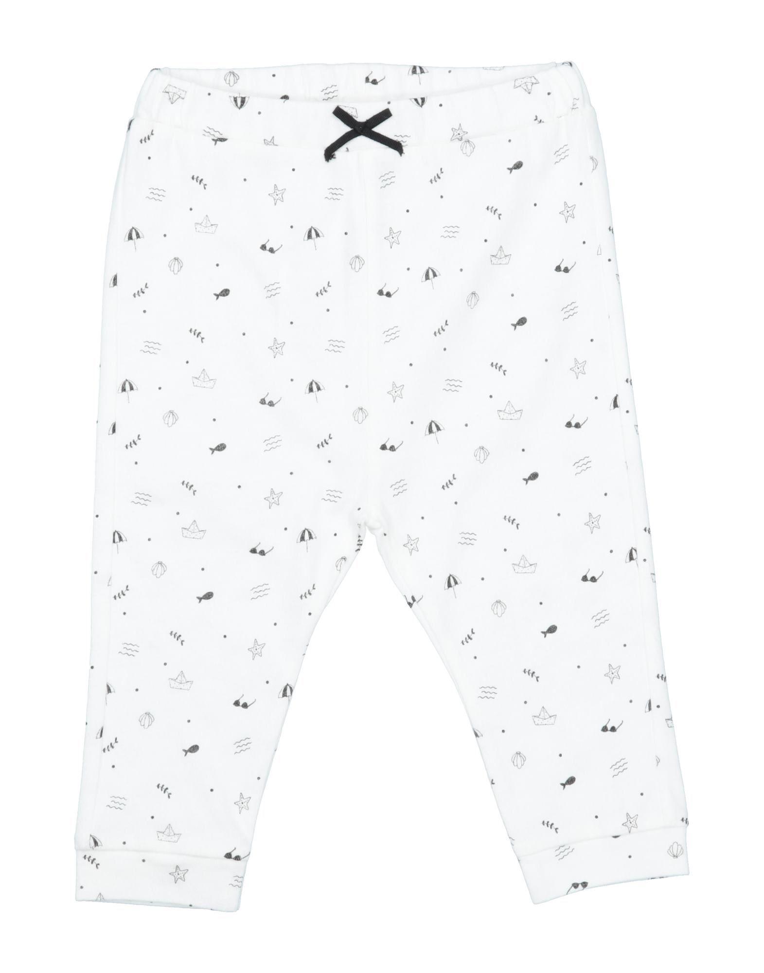 Emile Et Ida Kids' Casual Pants In White