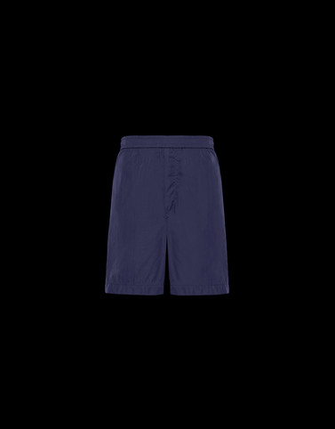 BERMUDA Dark blue Trousers Man