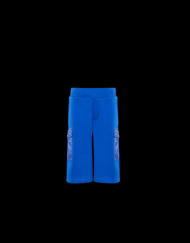BERMUDA SHORTS Bright blue Kids 4-6 Years - Boy Man