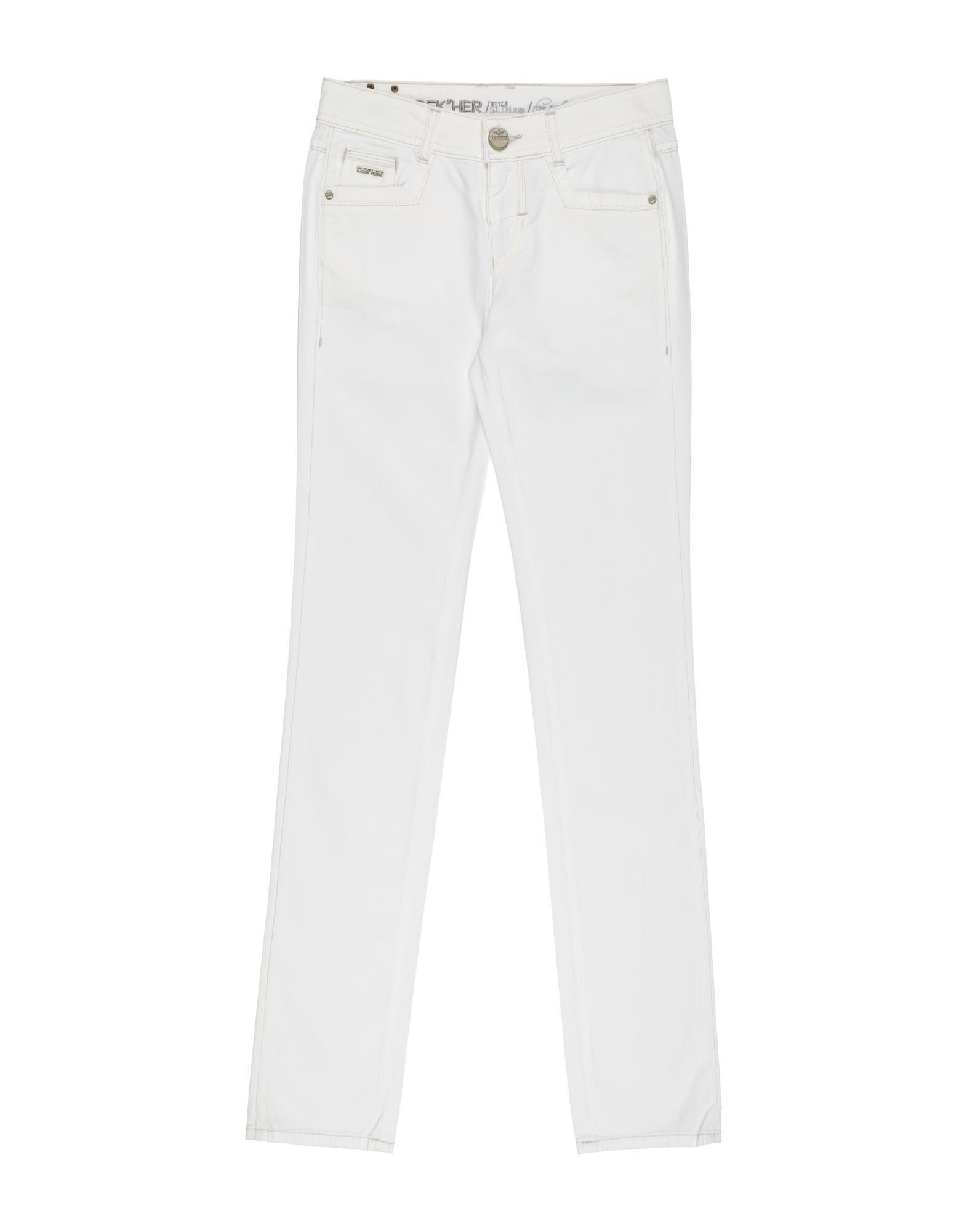 Dek'her Kids' Casual Pants In White