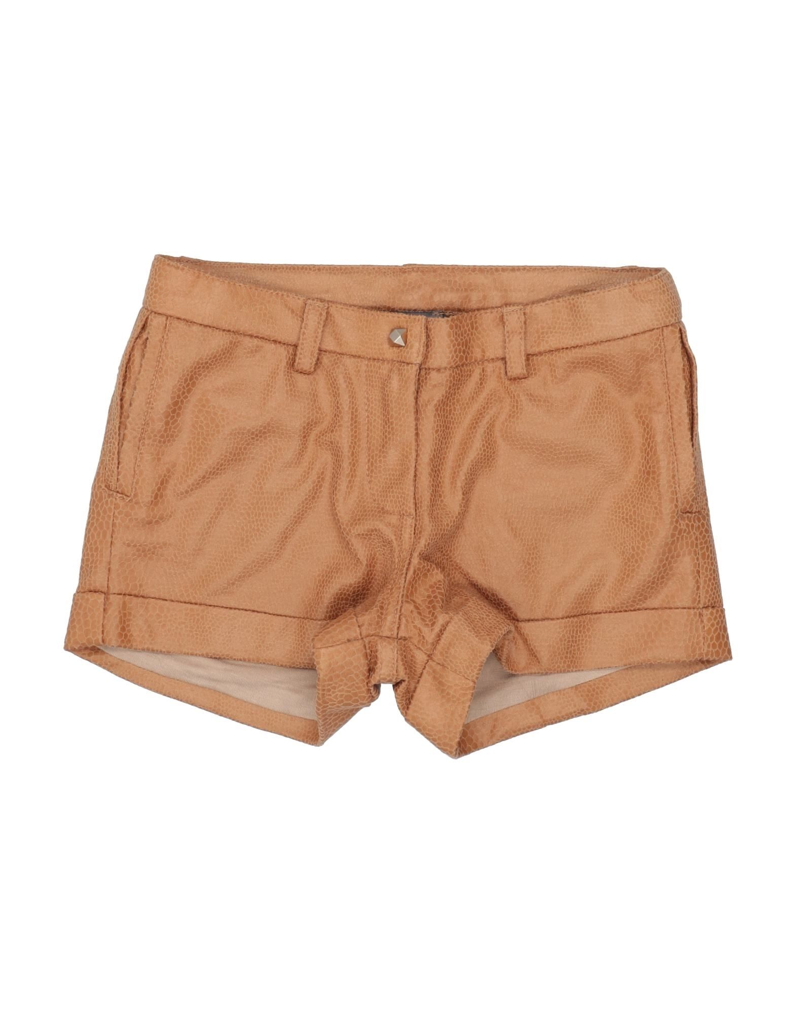Microbe By Miss Grant Kids' Shorts In Brown