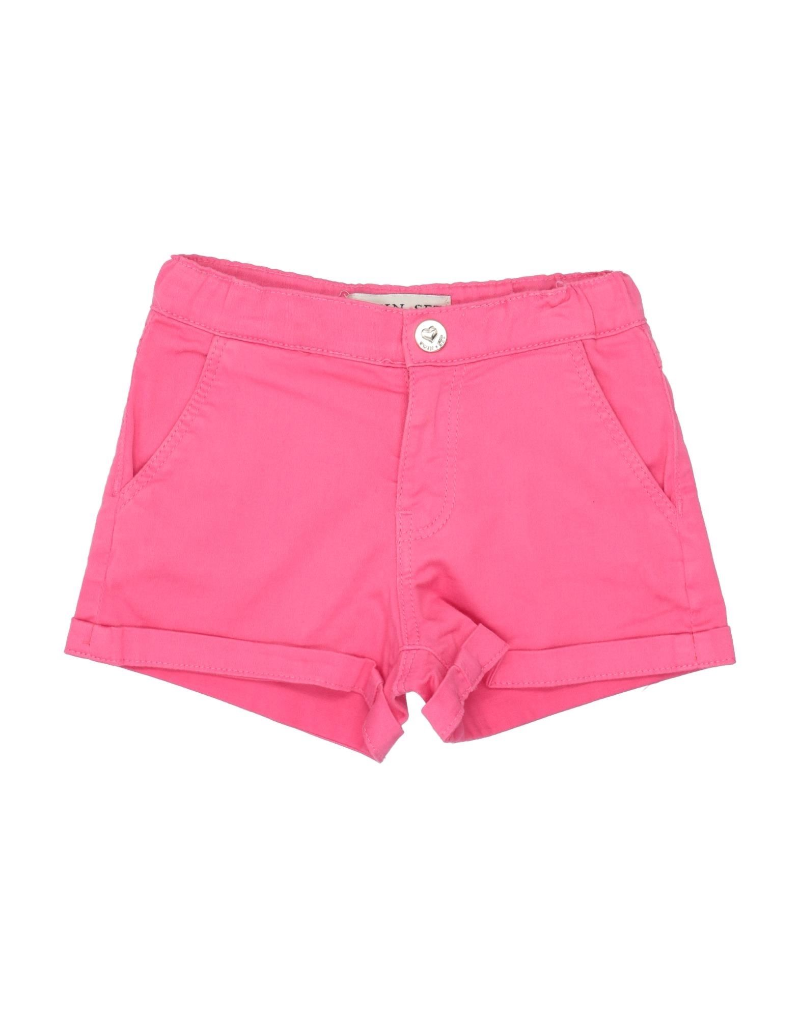 Twinset Girl Kids' Shorts In Pink