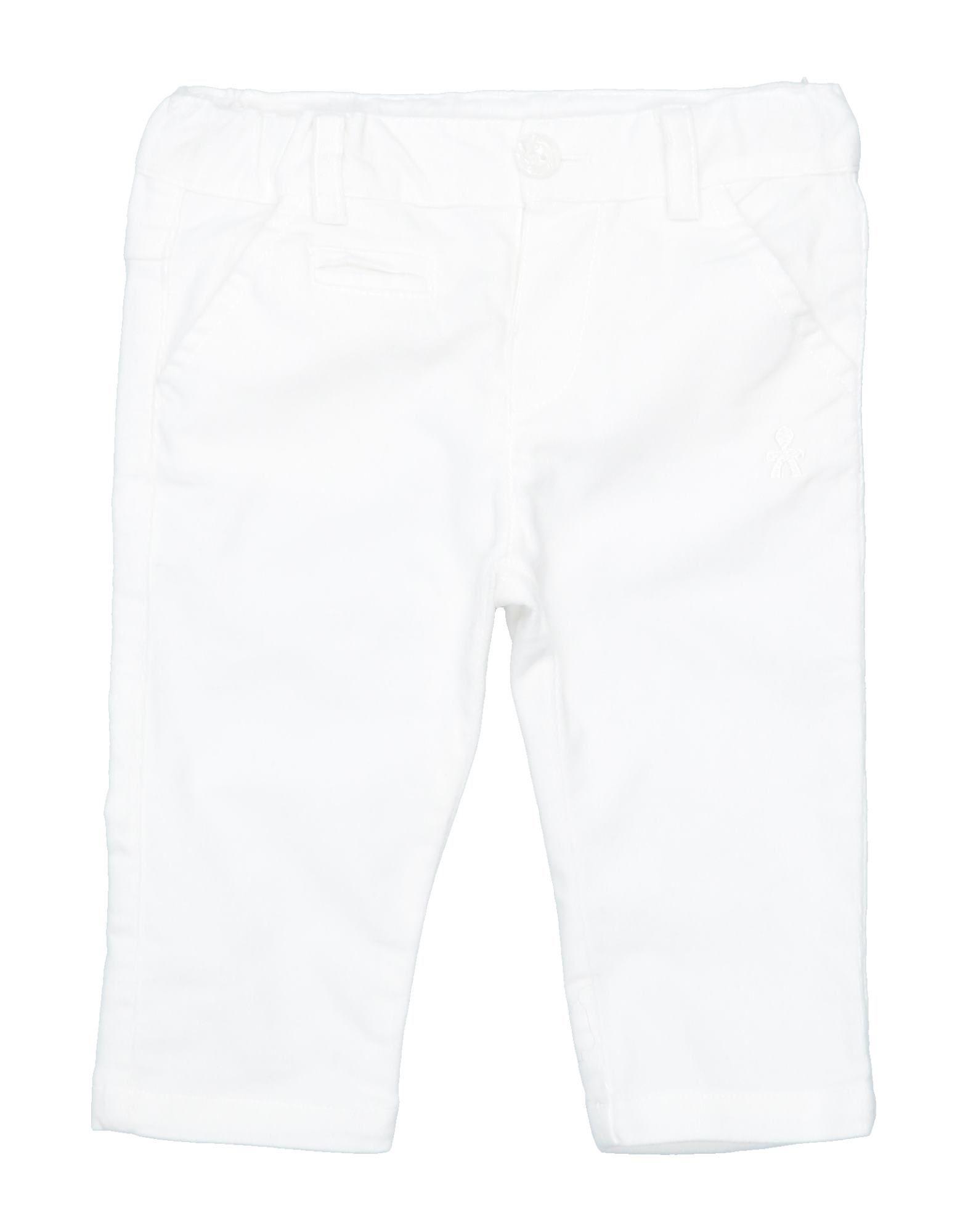 Le Bebé Kids' Casual Pants In White