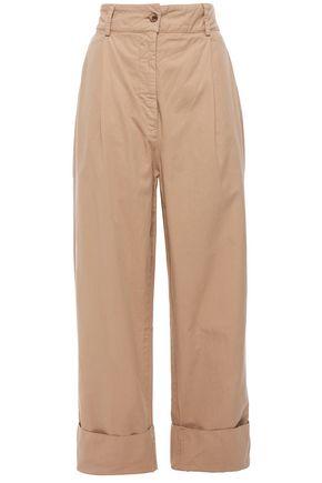 ACNE STUDIOS Cropped cotton-twill straight-leg pants