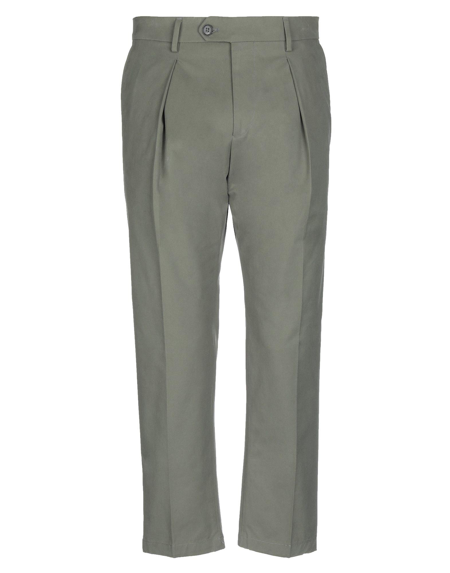 《セール開催中》BE ABLE メンズ パンツ ミリタリーグリーン 32 コットン 100%