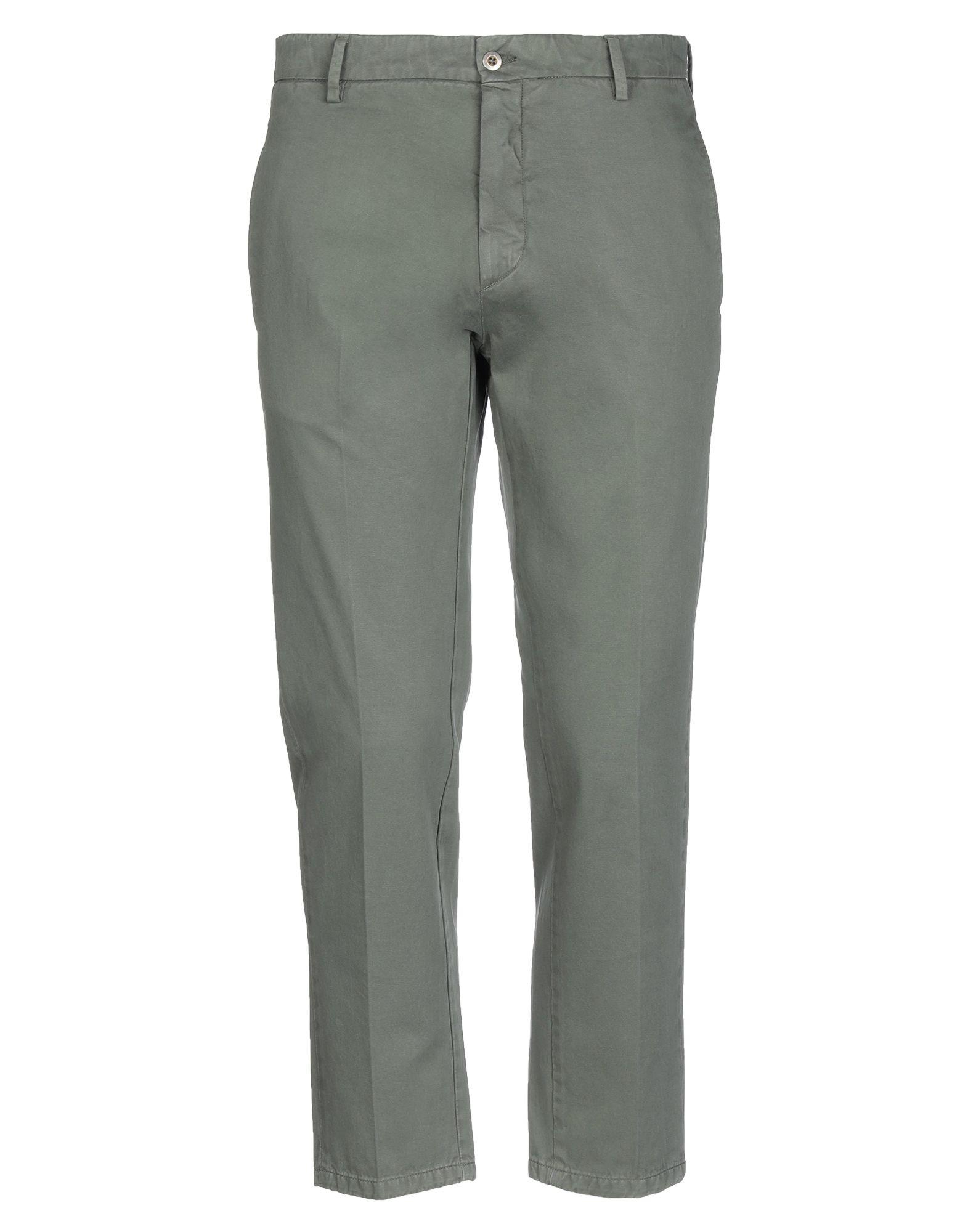 《セール開催中》BE ABLE メンズ パンツ ミリタリーグリーン 33 コットン 100%