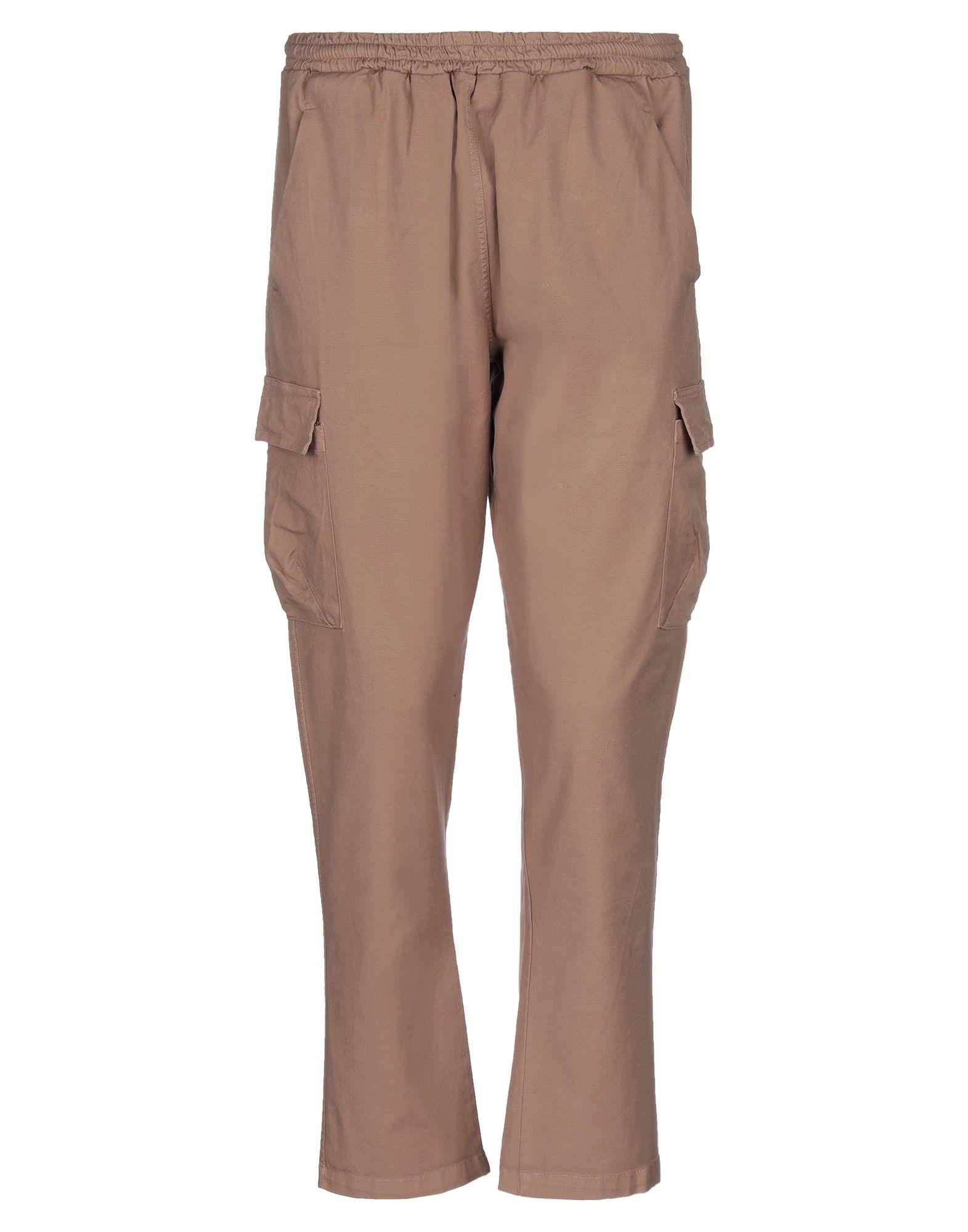 《セール開催中》THE KINGLESS COLLECTIVE メンズ パンツ ブラウン L コットン 97% / ポリウレタン 3%