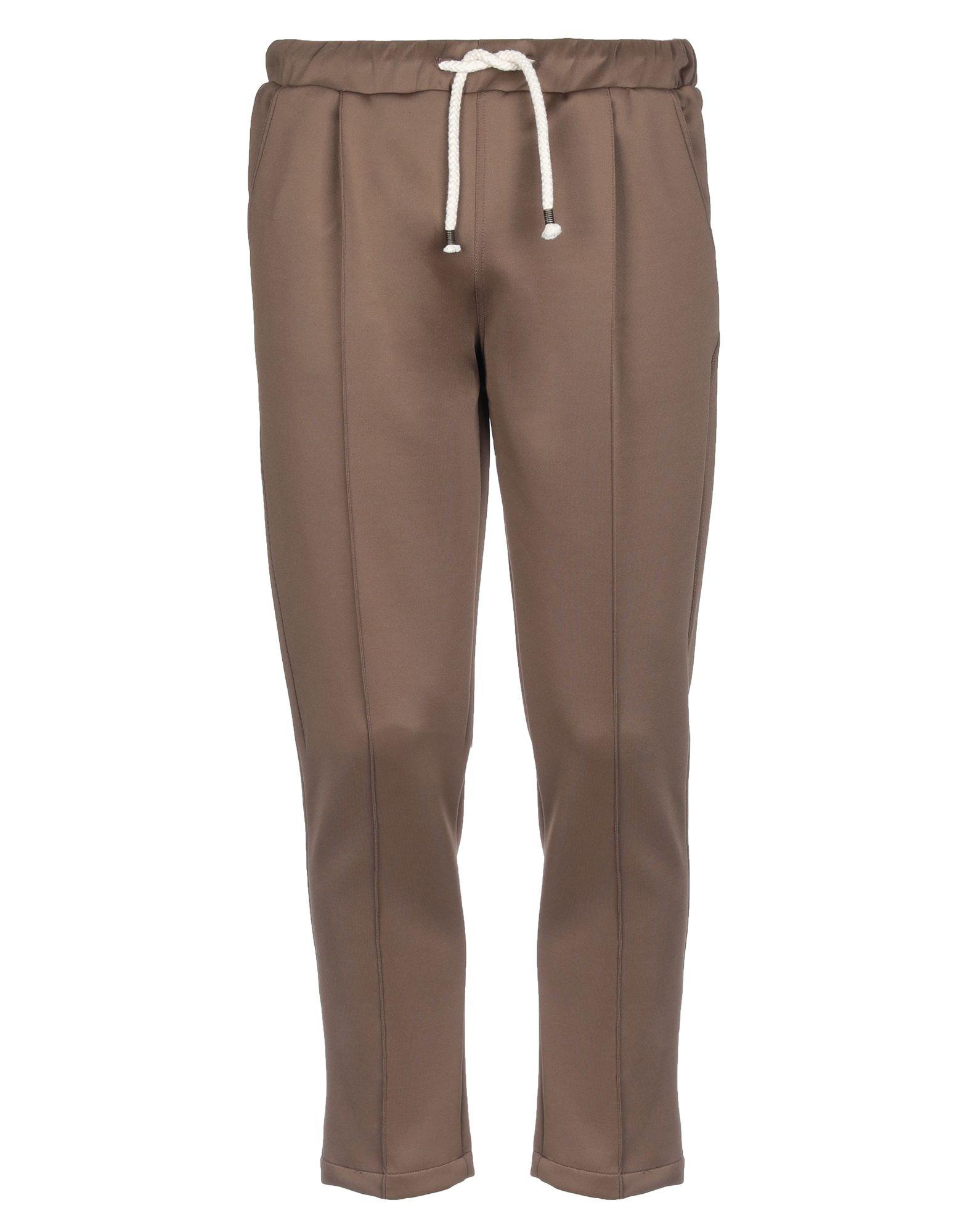 《セール開催中》THE KINGLESS COLLECTIVE メンズ パンツ ココア M コットン 100% / ポリエステル / ナイロン / ポリウレタン?