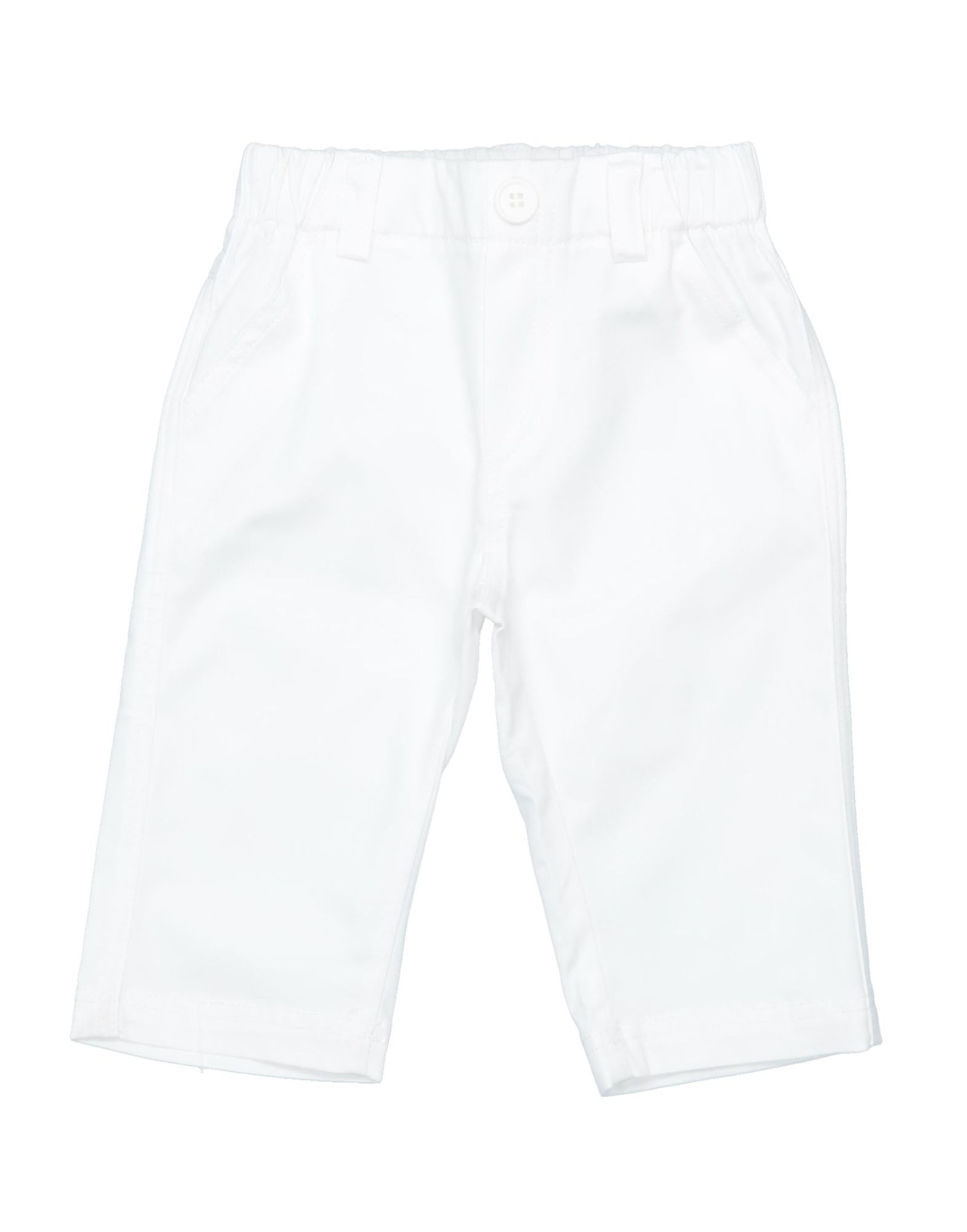 Cieloblu Kids' Casual Pants In White