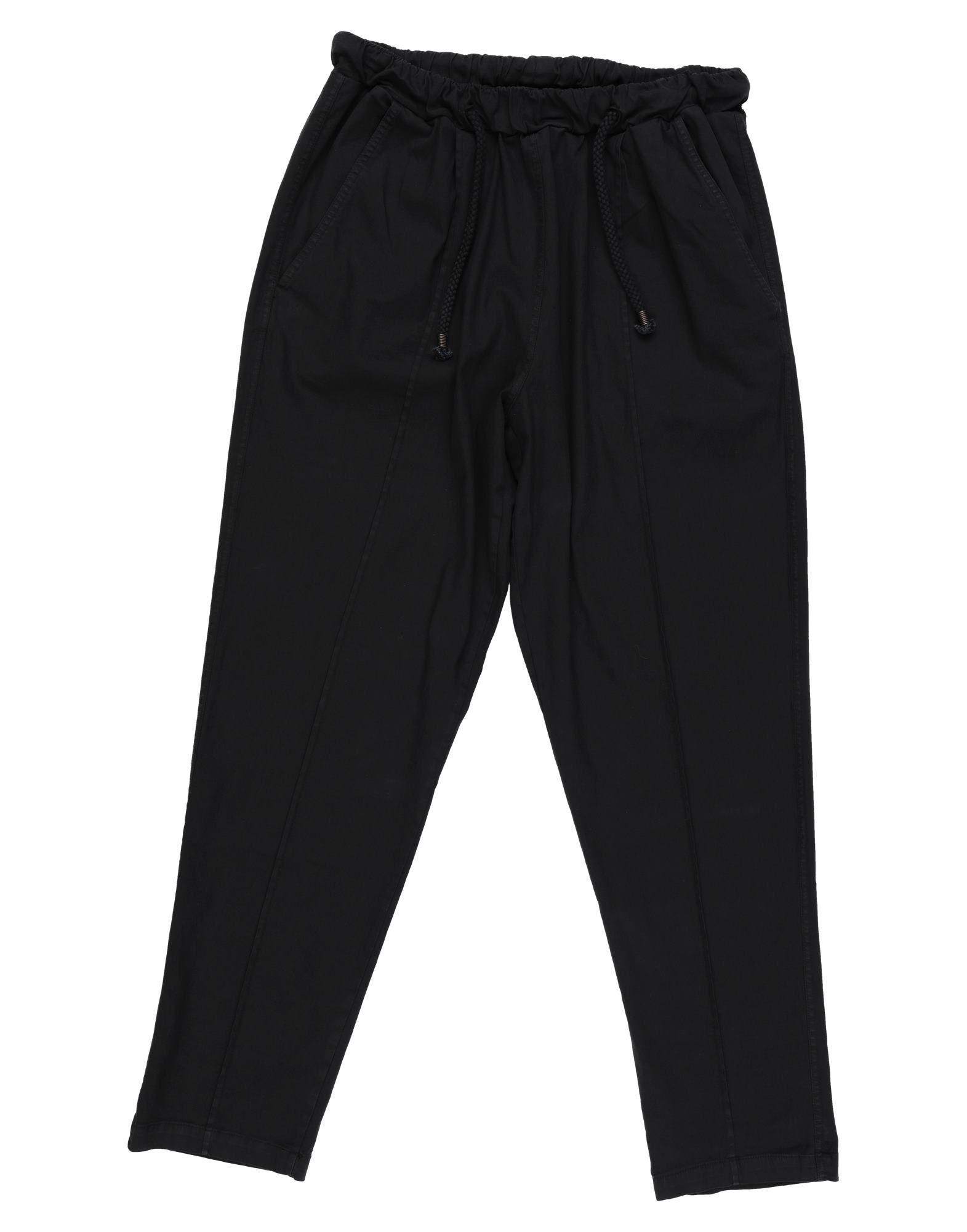 《セール開催中》THE KINGLESS COLLECTIVE メンズ パンツ ブラック XL コットン 97% / ポリウレタン 3%
