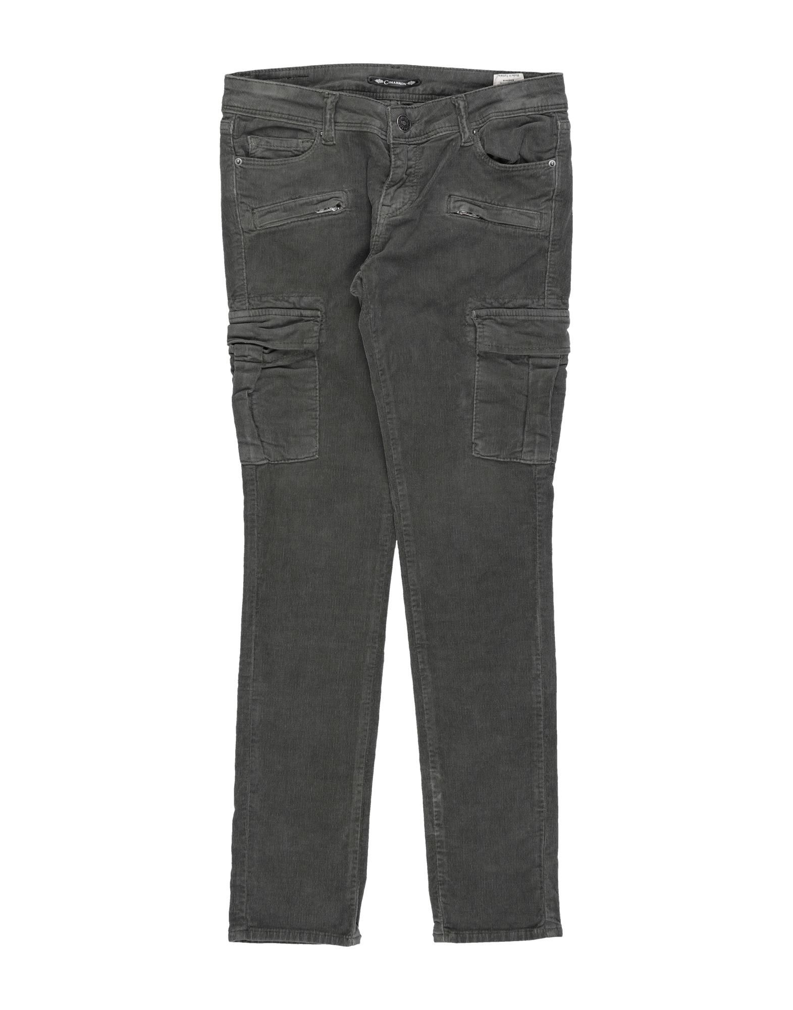 Cimarron Kids' Casual Pants In Military Green
