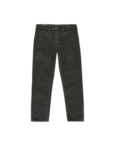 STONE ISLAND KIDS J0210_SL TROUSERS - 5 POCKETS Man Black EUR 133