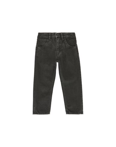 STONE ISLAND BABY J0210_SL TROUSERS - 5 POCKETS Man Black EUR 130