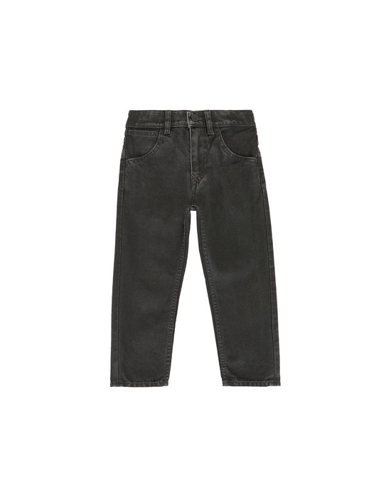 STONE ISLAND JUNIOR J0210_SL TROUSERS - 5 POCKETS Man Black