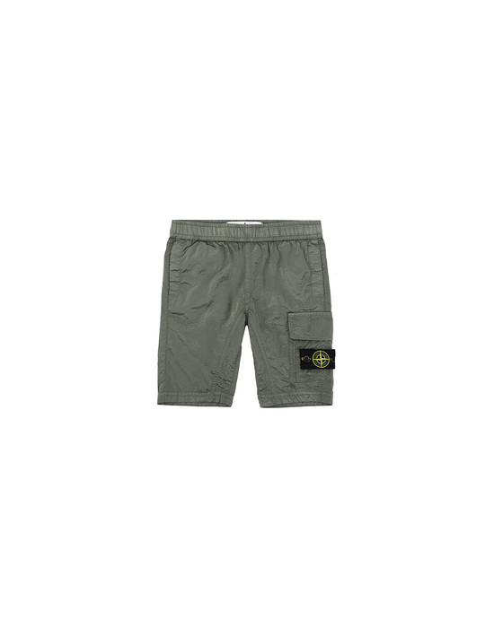 Bermuda shorts L0315 NYLON METAL RIPSTOP STONE ISLAND JUNIOR - 0