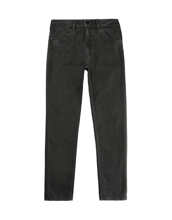 STONE ISLAND JUNIOR J0210_SL PANTS - 5 POCKETS Man Black