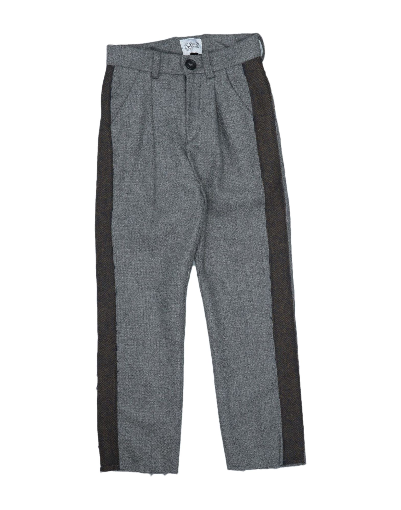 26.7 Twentysixseven Kids' Casual Pants In Grey