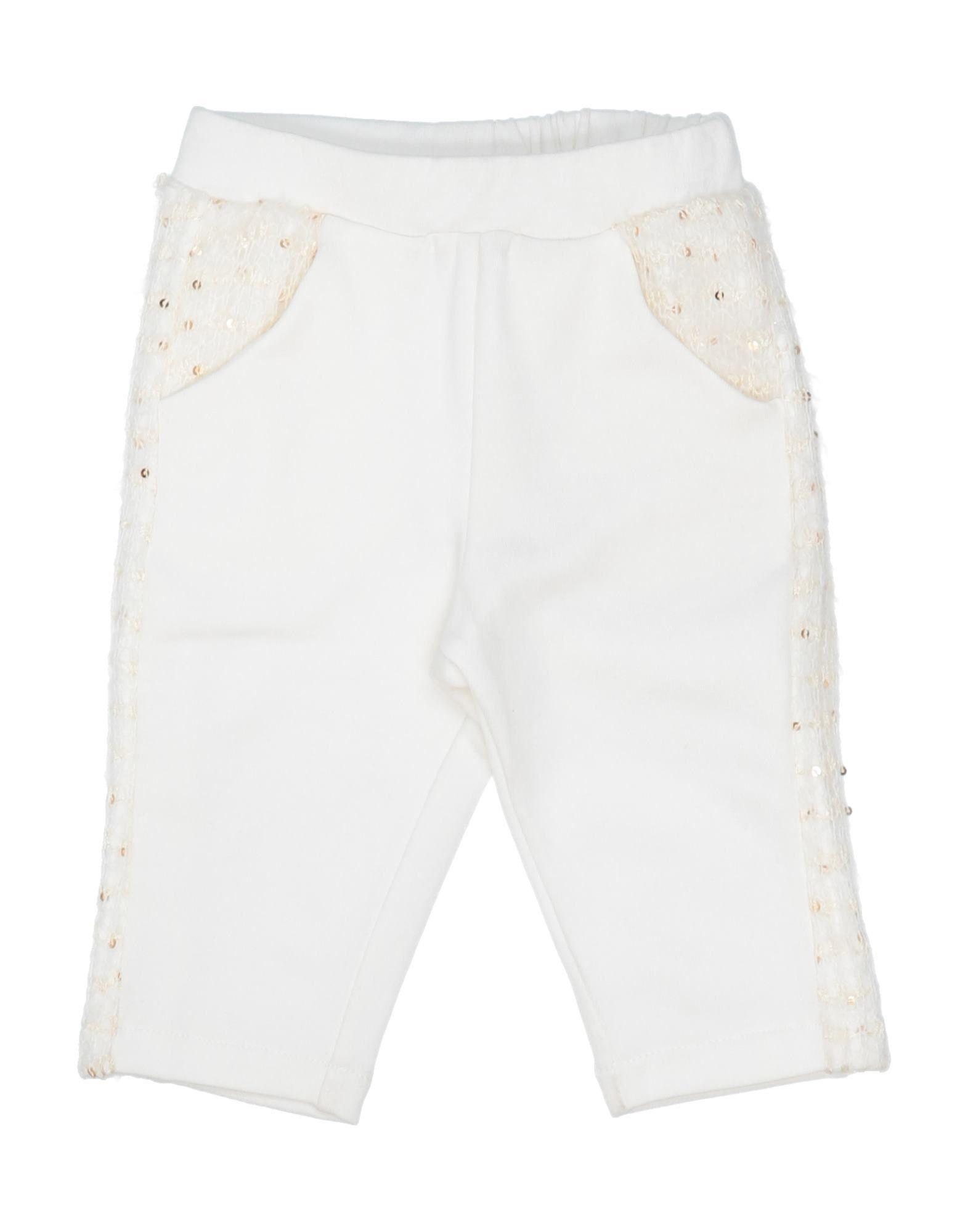 Gf Ferre' Kids' Casual Pants In White