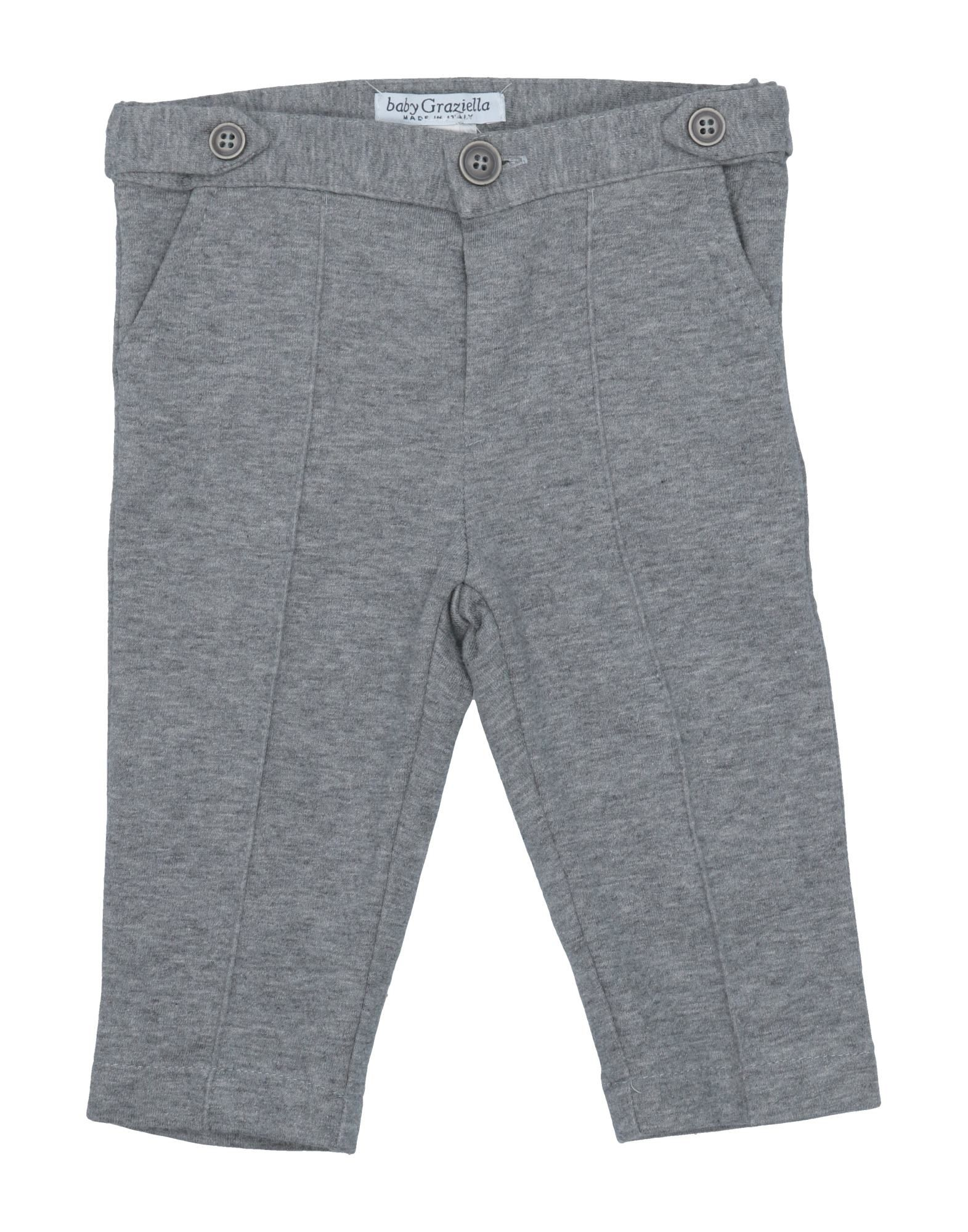 Baby Graziella Kids' Casual Pants In Gray