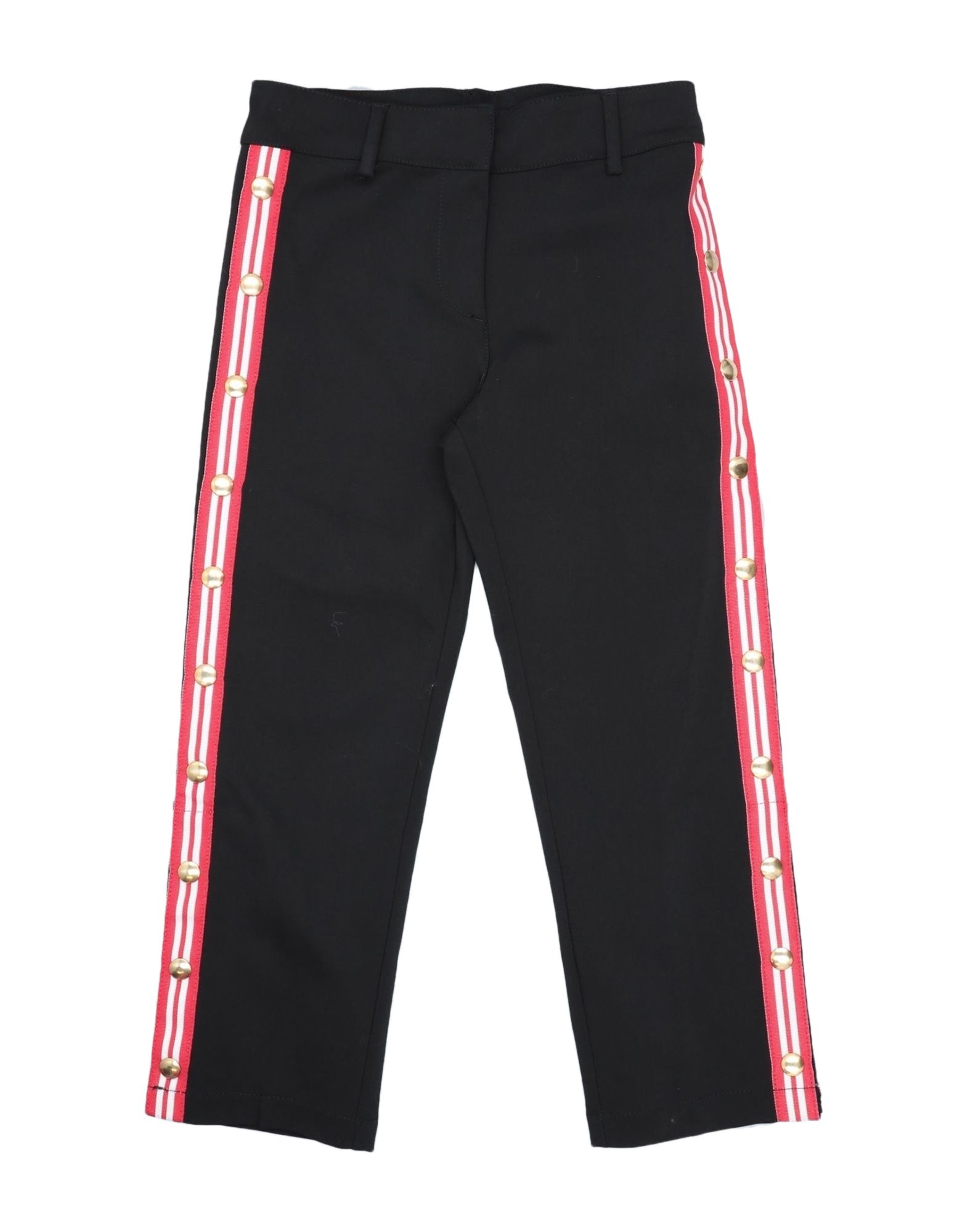 Stella Jean Kids' Casual Pants In Black