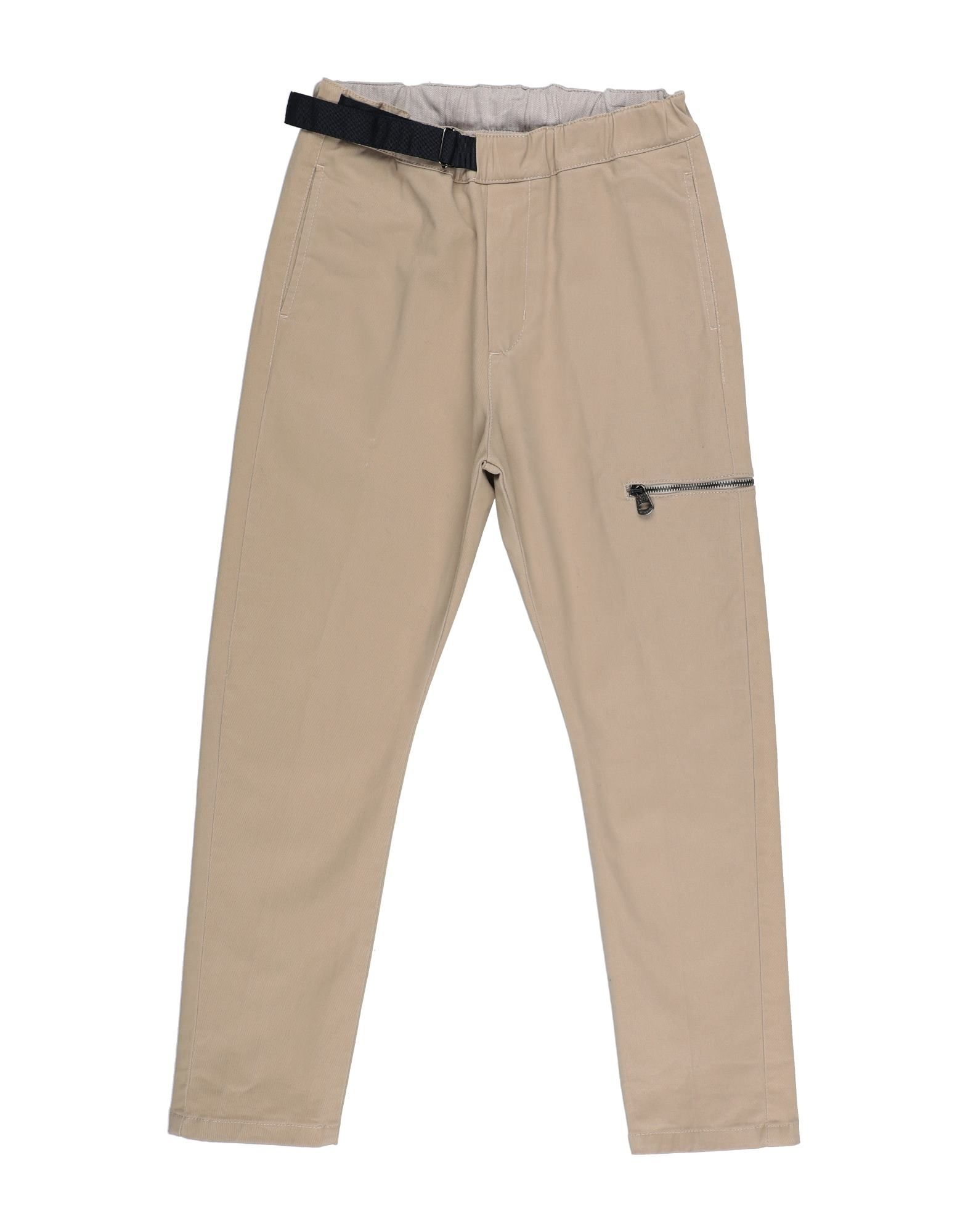 Fred Mello Kids' Casual Pants In Brown