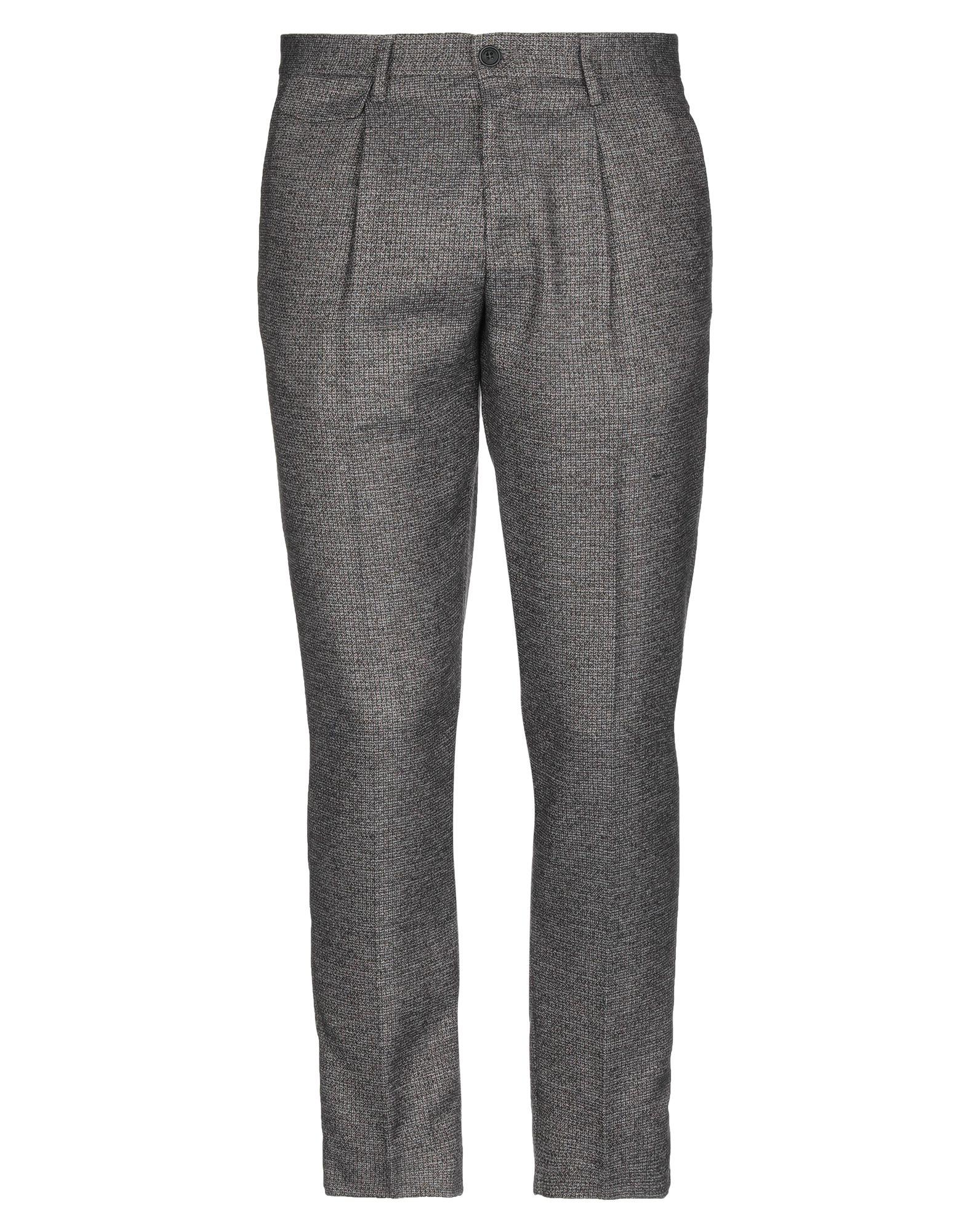 《セール開催中》HAMAKI-HO メンズ パンツ ダークブラウン 44 ポリエステル 90% / レーヨン 10%