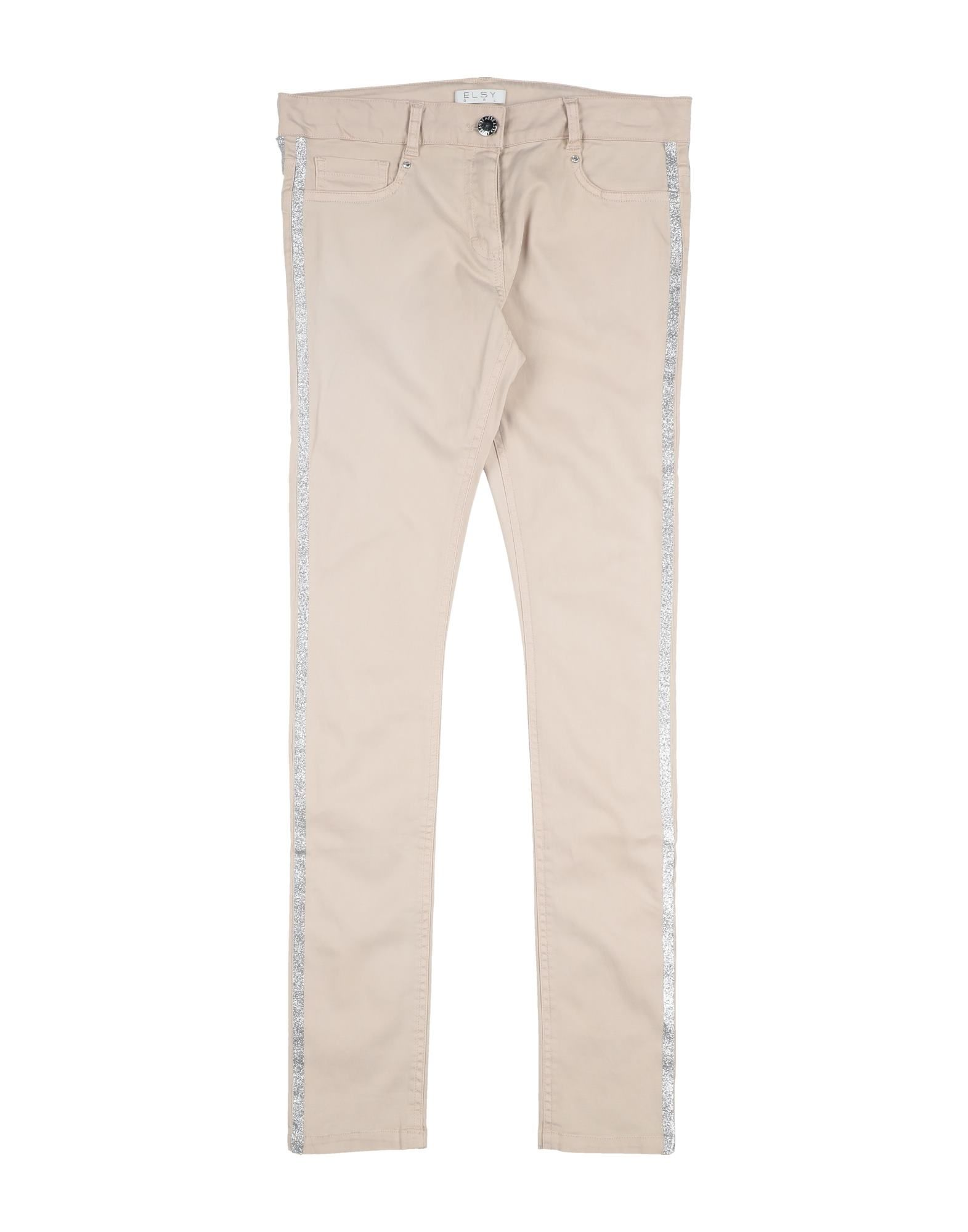 Elsy Kids' Casual Pants In Neutrals
