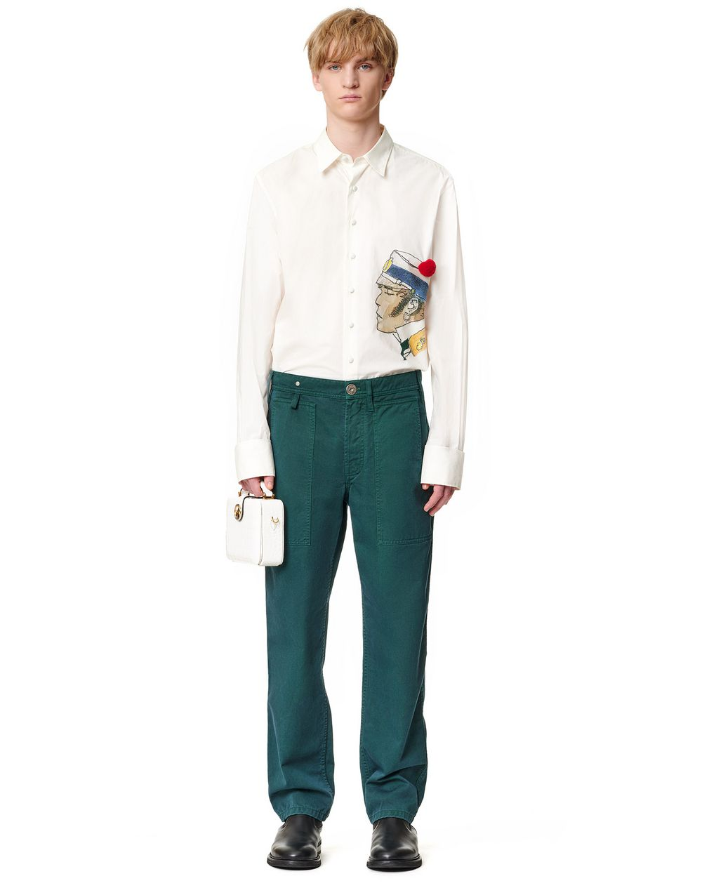 FIVE POCKETS PANTS - Lanvin