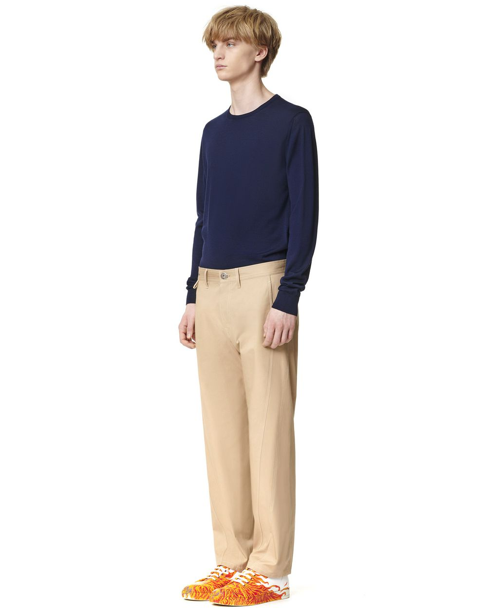 TWISTED LEG TROUSERS - Lanvin