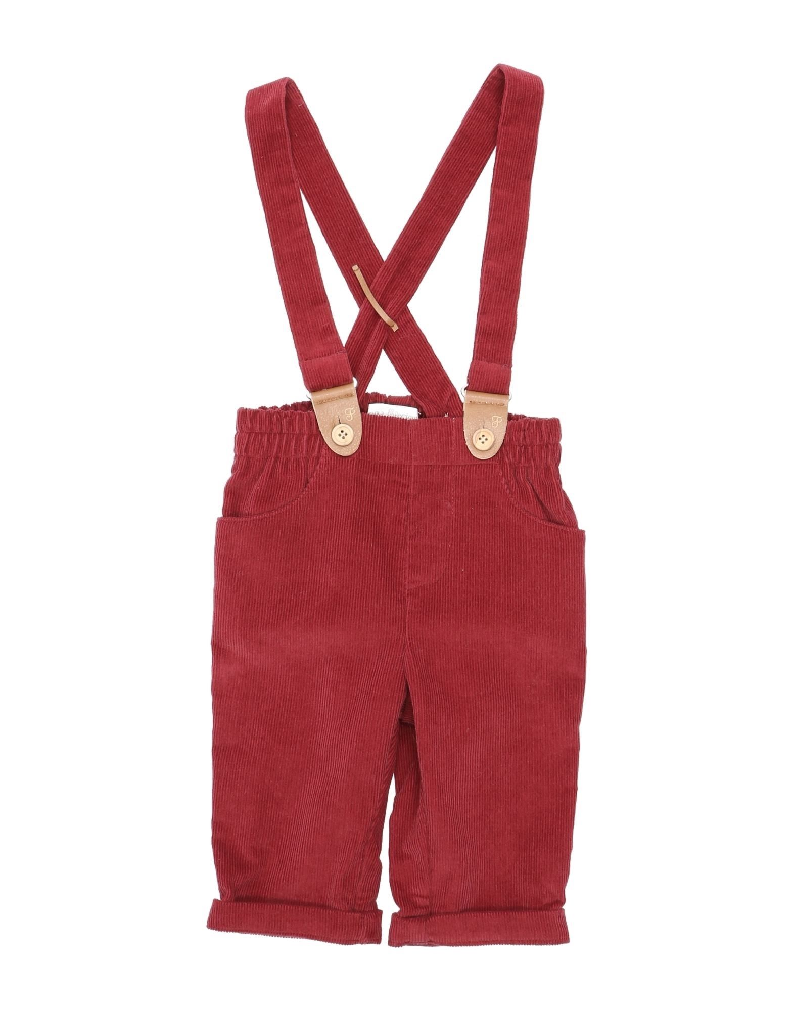 Fina Ejerique Kids' Casual Pants In Red