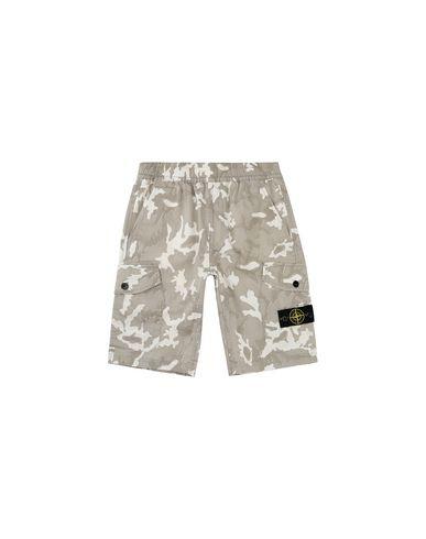 STONE ISLAND JUNIOR Bermuda shorts Man L0737 CAMOUFLAGE f