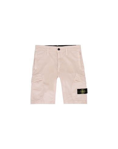 STONE ISLAND JUNIOR Bermuda shorts Man L0111 T.CO+OLD f