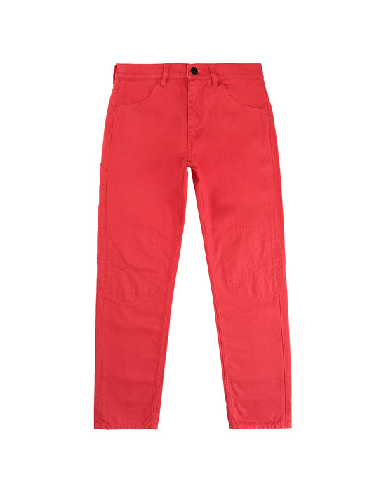 PANTS - 5 POCKETS Man J0110_RE Front STONE ISLAND JUNIOR