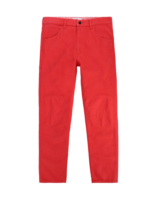 STONE ISLAND JUNIOR J0110_RE PANTS - 5 POCKETS Man Coral