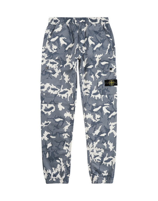 Pants 30637 CAMOUFLAGE STONE ISLAND JUNIOR - 0