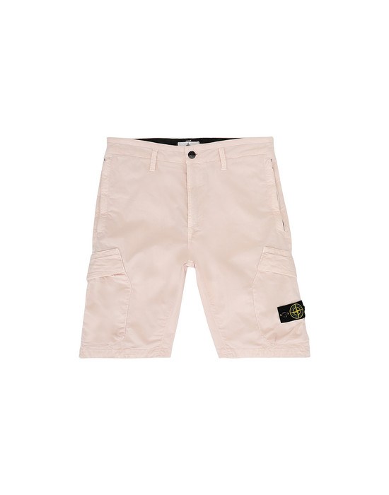 STONE ISLAND JUNIOR L0111 T.CO+OLD Bermuda Uomo Stucco