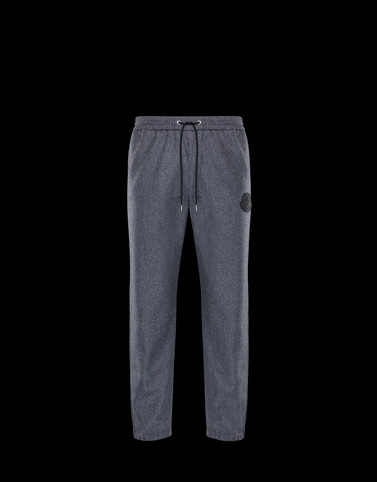 ATHLETIC TROUSERS Grey Trousers Man