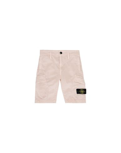 STONE ISLAND KIDS L0111 T.CO+OLD Bermuda shorts Man Stucco EUR 97